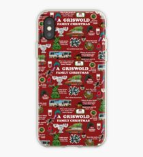 Christmas Vacation Collage iPhone Case