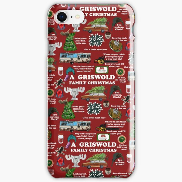 Christmas Vacation Collage iPhone Snap Case