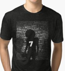 Black Lives Matter: Why Kaepernick Takes a Knee Tri-blend T-Shirt