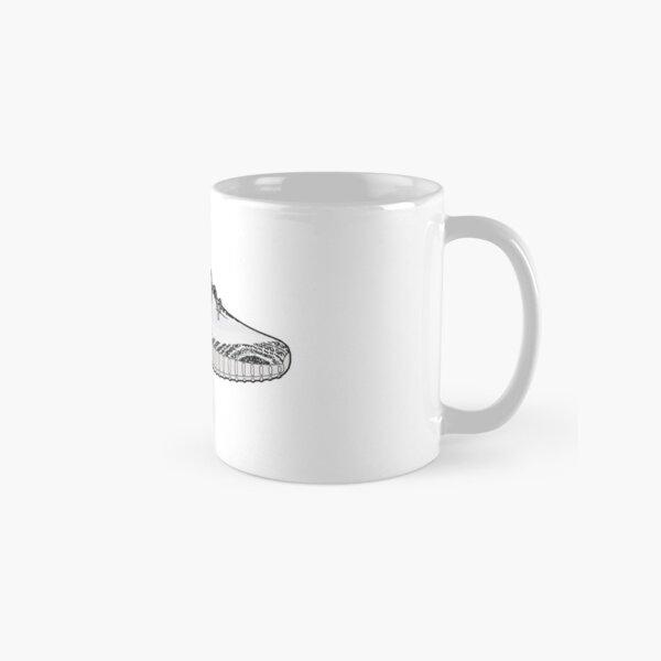Yeezy 350 Boost Zebra Minimalist Illustration  Classic Mug
