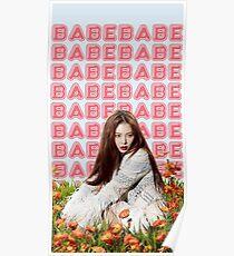 HyunA - BABE Poster