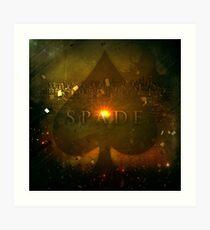 Spade Art Print