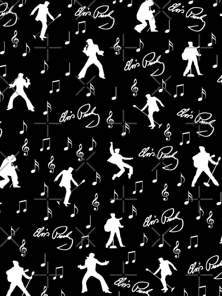 Elvis Presley Muster von ValentinaHramov