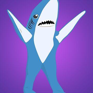 Left Shark by karolisbutenas