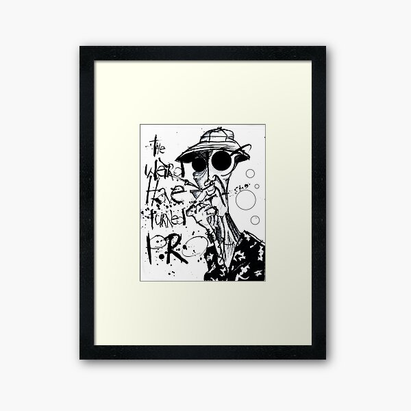 The Weird Have Turned Pro Framed Art Print