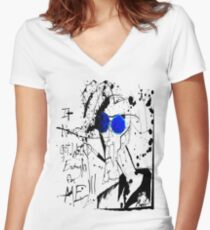 It Never Got Weird Enough for ME!!! Women's Fitted V-Neck T-Shirt