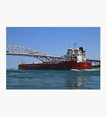 Whitefish Bay and Blue Water Bridge 2 Photographic Print