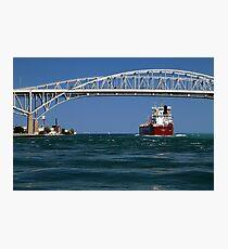 Whitefish Bay and Blue Water Bridge Photographic Print