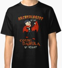 Count Dabula by night  Archeologist  Halloween Archeology   T-Shirt Sweater Hoodie Iphone Samsung Phone Case Coffee Mug Tablet Case Gift Classic T-Shirt