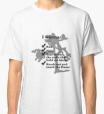 U2 - The Joshua Tree - Streets Classic T-Shirt