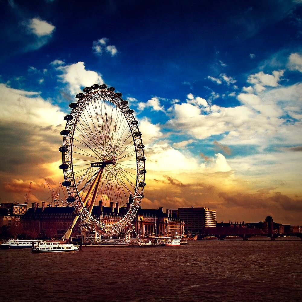 London Eye by Alexandru C.