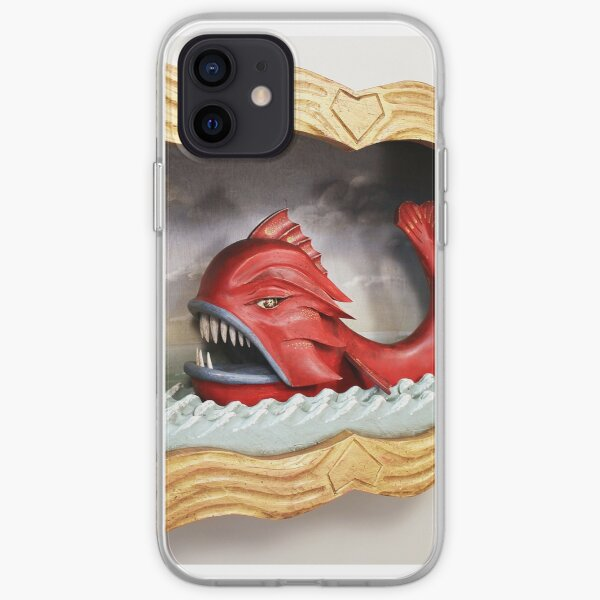 Sea Monster - Side View iPhone Soft Case