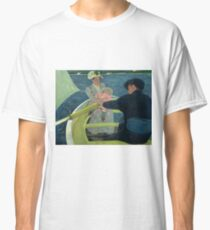 The Boating Party by Mary Cassatt Classic T-Shirt
