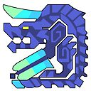 Monster Hunter Brachydios Icon Sticker By Amateuranime Redbubble