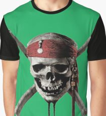 Pirates Caribbean Graphic T-Shirt
