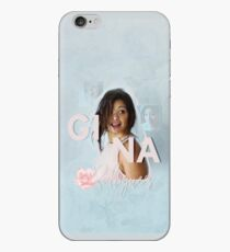 Vinilo o funda para iPhone Estuche Gina Rodriguez - Azul