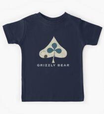 Grizzly Bear - Shields (Light Text) Kids Tee