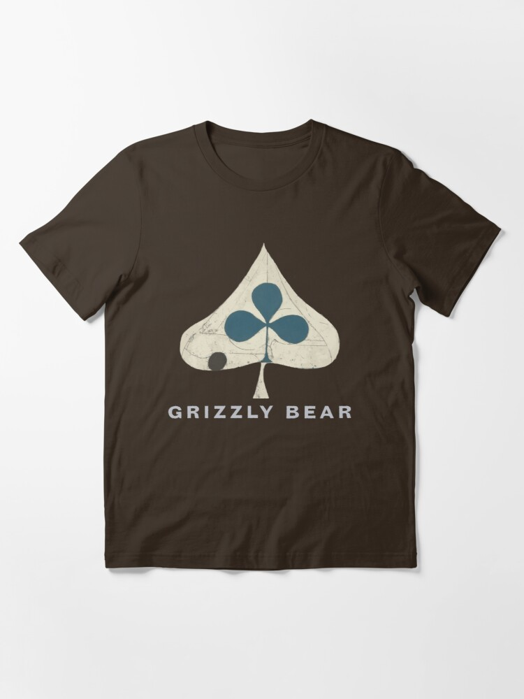 Alternate view of Grizzly Bear - Shields (Light Text) Essential T-Shirt