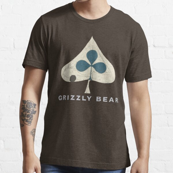 Grizzly Bear - Shields (Light Text) Essential T-Shirt