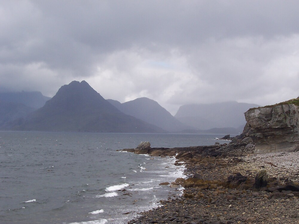 View from Elgol towards Camasunary by benmacdui