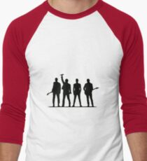 U2 silhouette The Joshua Tree Tour Men's Baseball ¾ T-Shirt