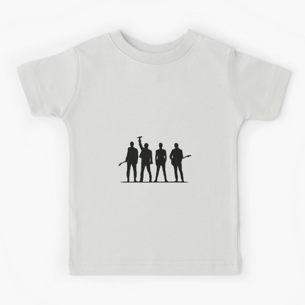 U2 silhouette The Joshua Tree Tour Kids T-Shirt