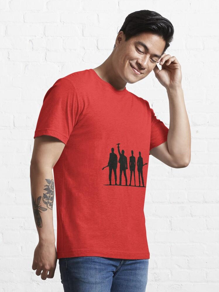 Alternate view of U2 silhouette The Joshua Tree Tour Essential T-Shirt