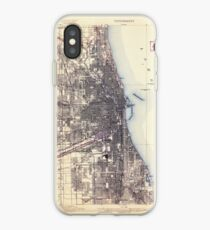 USGS TOPO Map Illinois IL Chicago 309346 1901 62500 iPhone-Hülle & Cover