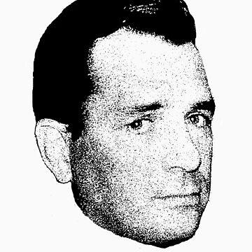 The Jack Kerouac Tshirt by oscarwilde