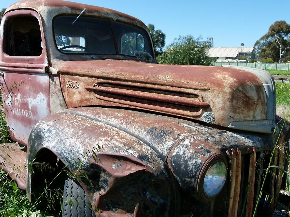 1946 jailbar Ford 2 tonne truck by elsha