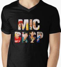 BTS Bangtan Mic Drop  Men's V-Neck T-Shirt