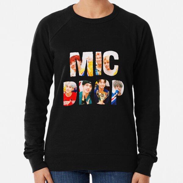 BTS Bangtan Mic Drop  Lightweight Sweatshirt