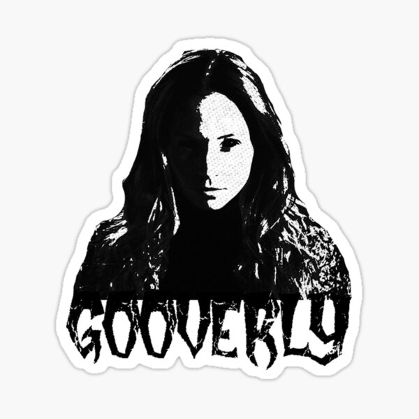 Don't. Touch. The. #Gooverly. Sticker