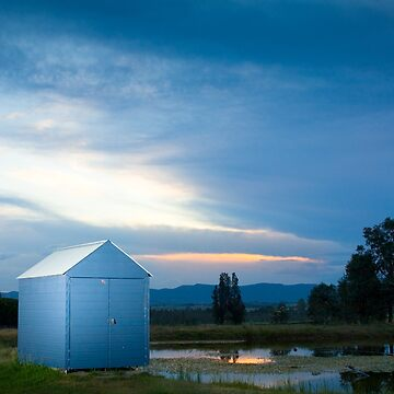 Hunter Valley Sunset by scttw