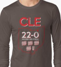 Vintage Cleveland 22 Game Win Streak Historic T-Shirt T-Shirt