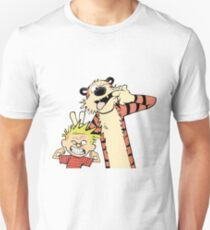 Calvin and Hobbes Making Faces T-Shirt