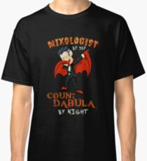Count Dabula by night  Mixologist  Halloween Mixology   T-Shirt Sweater Hoodie Iphone Samsung Phone Case Coffee Mug Tablet Case Gift Classic T-Shirt