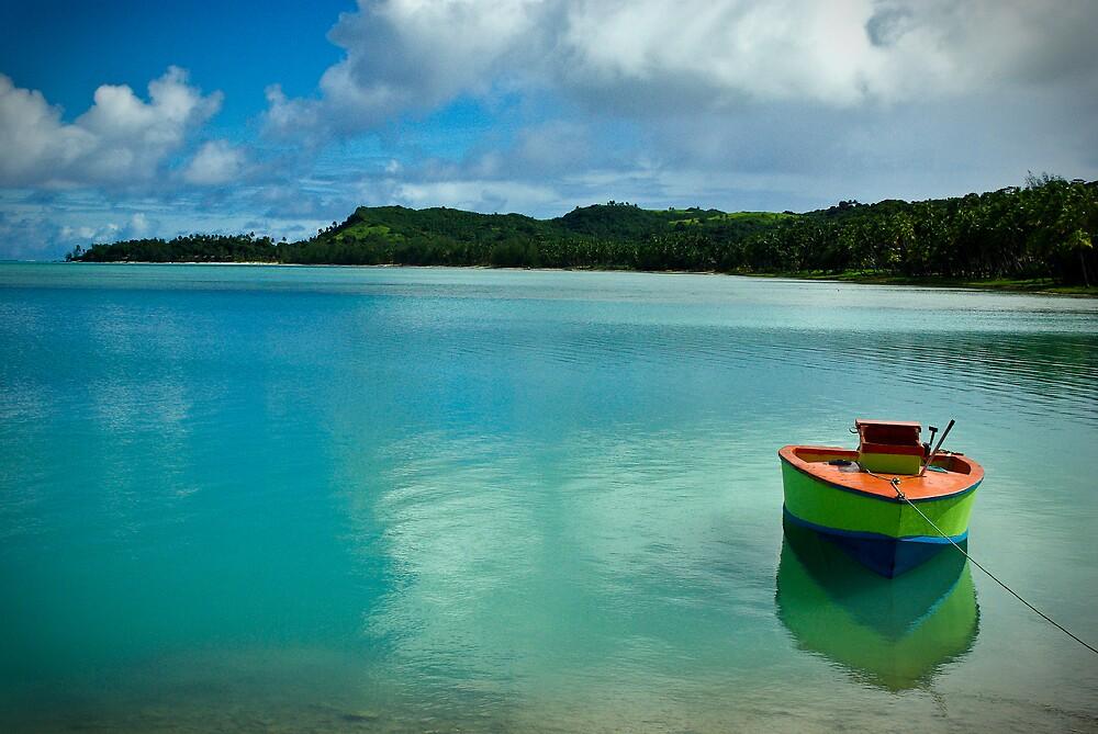 Arutanga, Aitutaki, Cook Islands by Rowen Atkinson