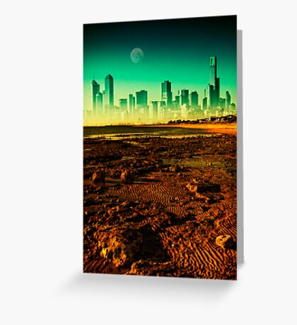 Surreal Melbourne Greeting Card