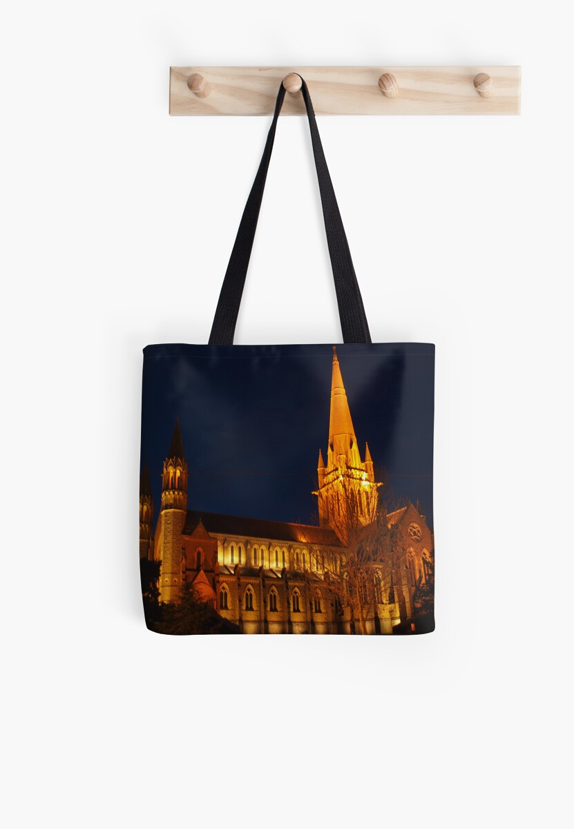 Cathederal at night by Clive