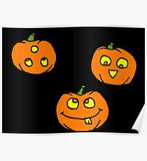 Silly Pumpkins  Poster