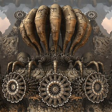 Organic Mechanics by aureliuscat