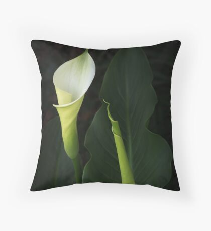 The Goddess Lily Throw Pillow