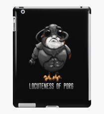 Locuteness of Porg iPad Case/Skin