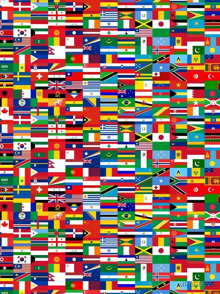 FLAG ME-WORLD FLAGS by IMPACTEES