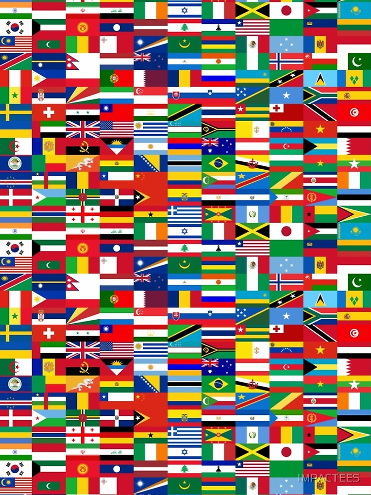 BANDERA ME-WORLD FLAGS de IMPACTEES