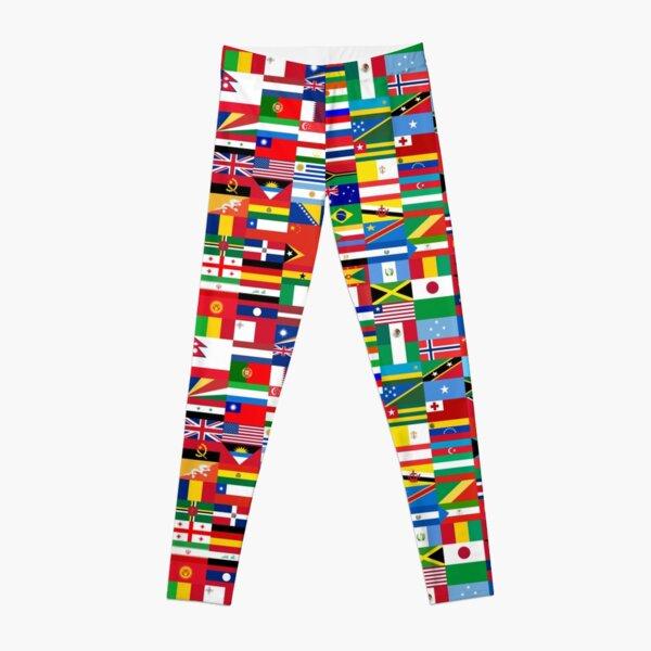 FLAG ME-WORLD FLAGS Leggings
