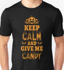 Scary Halloween Costume Shirt Keep Calm o T-Shirt