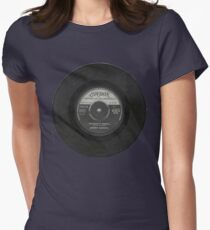 Rocknrol 'T's 'Cincinnati fire ball' Johnny Burnette Women's Fitted T-Shirt