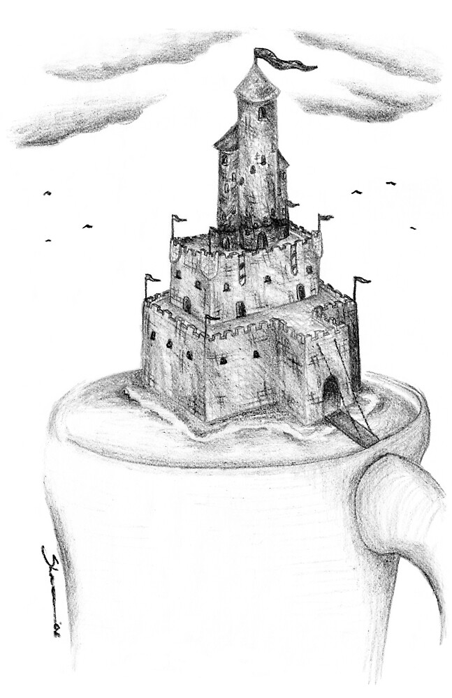 Coffee Cup - Castle by zinterink